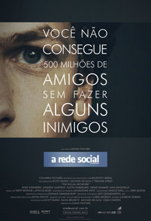 Poster A Rede Social