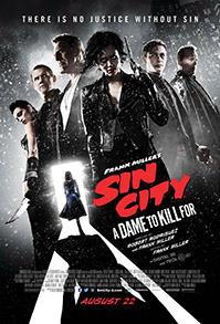 Sin City – A Dama Fatal Poster