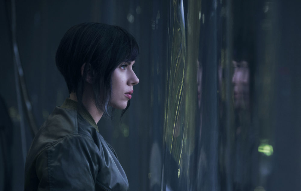 Whitewashing em Ghost in the shell?